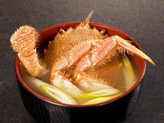 鉄砲汁・蟹汁・カニ味噌汁