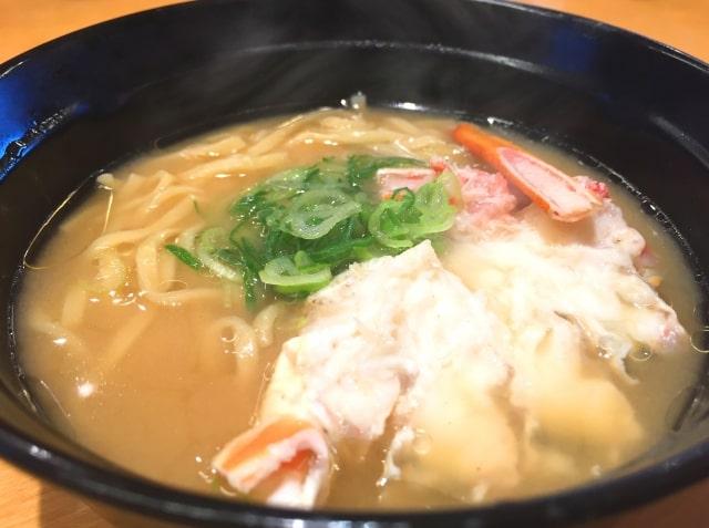 蟹ラーメン